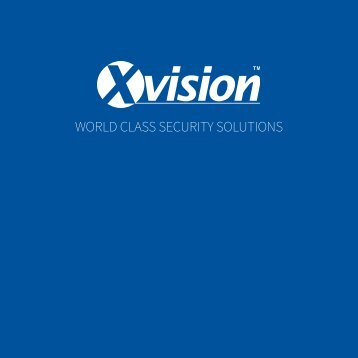 XVision Brochure - Email Version