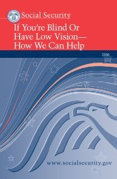 If You're Blind Or Have Low Vision— How We Can Help