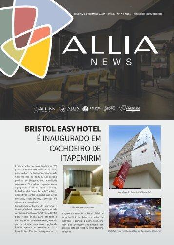 JORNAL ALLIA NEWS - EDIÇÃO SETEMBRO-OUTUBRO-2016
