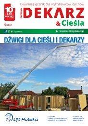Fachowy Dekarz & Cieśla 2016/5