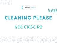 Cleaning Please Stockport