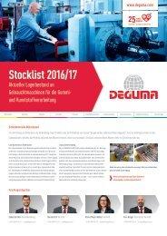 DEGUMA Stocklist 2016-17- deutsch