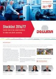 DEGUMA Stocklist 2016-17 - english