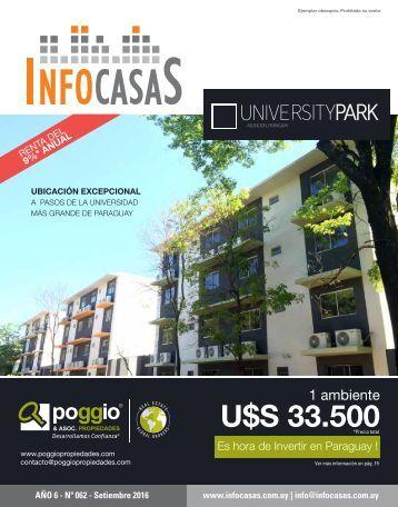 Revista Infocasas - Número 62 - Setiembre 2016