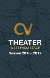 Century Village Theater - West Palm Beach 2016-17 Brochure