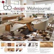 Der neue 16-Seitige Prospekt Bo-design Wohnjournal