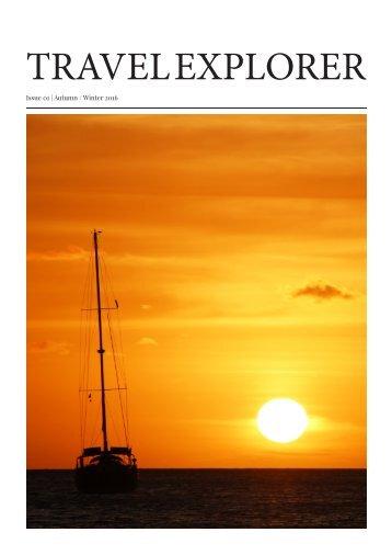 Travel Explorer Magazine (AUTUMN/WINTER 2016 EDITION)