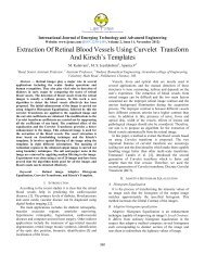 Extraction Of Retinal Blood Vessels Using Curvelet Transform And ...