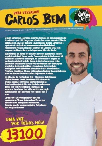 Informativo de Campanha para vereador - Carlos Bem