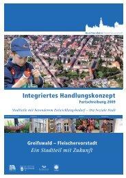 Integriertes Handlungskonzept - Hansestadt Greifswald