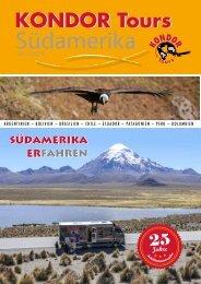 Kondor Katalog Südamerika