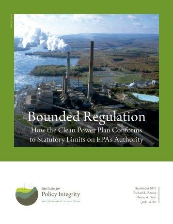 Bounded Regulation