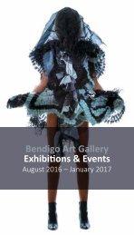 Bendigo Art Gallery Maticevski Dark Wonderland 2016 Public Programs Booklet