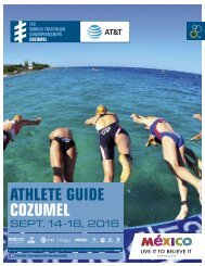ATHLETE GUIDE COZUMEL