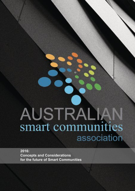 2016 Concepts and Considerations for the future of Smart Communities