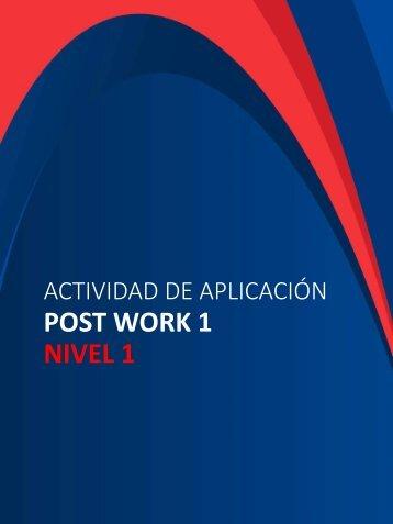 GEPP PostWork 1 Nivel  1 vf