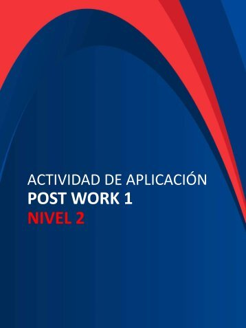 GEPP PostWork 1 Nivel  2 vf