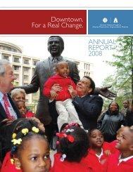 CAP Annual Report 08e.indd - Central Atlanta Progress