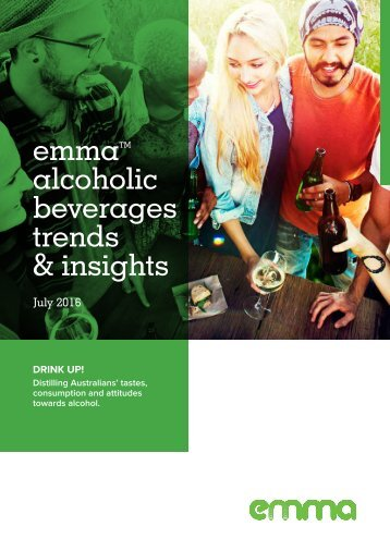 emma alcoholic beverages trends & insights