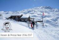 Dossier de Presse Hiver 2016-2017