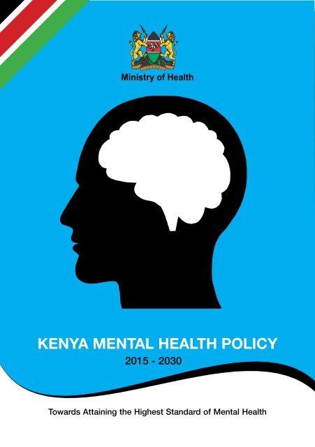 KENYA MENTAL HEALTH POLICY