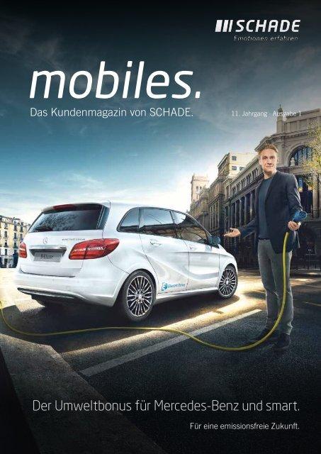 "SCHADE Kundenmagazin ""mobiles"" 2016"