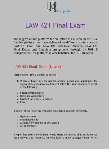 Law exam questions | Coursework Example - theuniversityofsheffield com