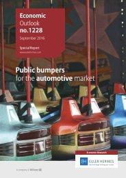 Public bumpers for the automotive market