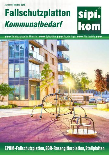 Fallschutzplatten Katalog  | Sipirit Kommunalbedarf GmbH