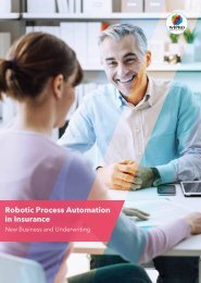 Robotic Process Automation in Insurance
