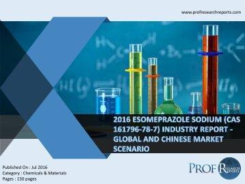 2016 ESOMEPRAZOLE SODIUM (CAS 161796-78-7) INDUSTRY REPORT - GLOBAL AND CHINESE MARKET SCENARIO