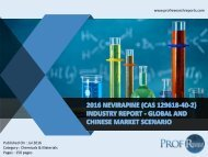 Nevirapine (CAS 129618-40-2) Industry  2011-2021 Overview