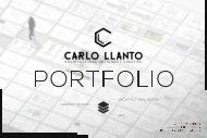Carlo Llanto Architecture and Graphic Design Portfolio 1st Ed
