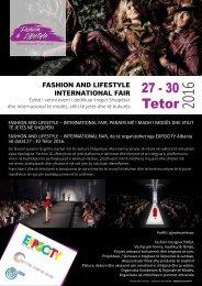 Fashion&Lifestyle Fall Winter 2016 - Brochure info (AL)