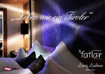 Hotel Fatlar - Prospekt Winter 18/19