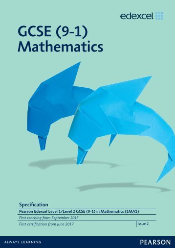 gcse-maths-2015-specification