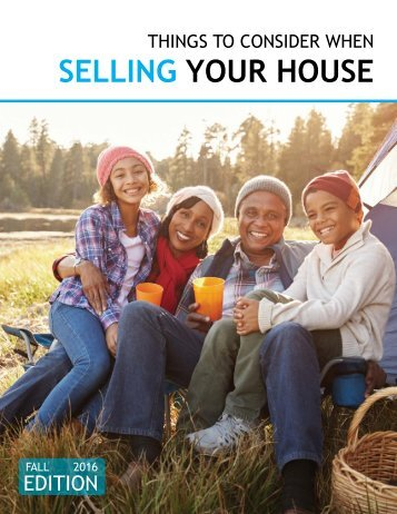 Selling Your House Fall 2016
