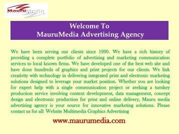 Letterhead service provider in Houston Mauru Media Advertising Agency