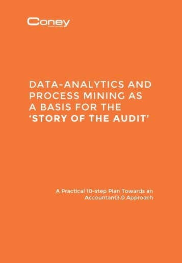 PROCESS MINING AS A BASIS FOR THE 'STORY OF THE AUDIT'