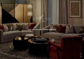 Alter London - The Love of All Bespoke