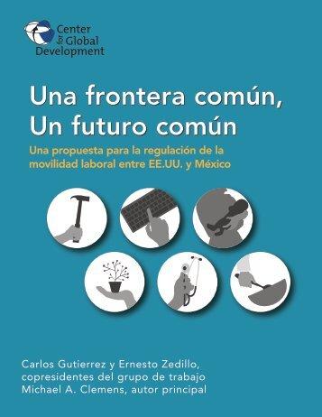 Una frontera común Un futuro común