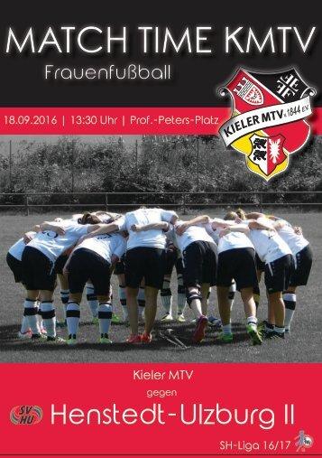 18.09.16 KMTV – SV Henstedt-Ulzburg II