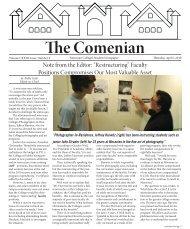 The Comenian - Moravian College