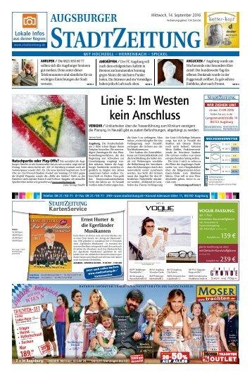 104 Augsburg - Süd-Ost 14.09.2016