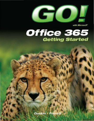 GO with Microsoft Office 365