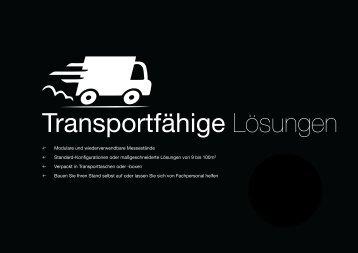 2016 transportfähige Lösungen