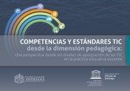 COMPETENCIAS Y ESTÁNDARES TIC desde la dimensión pedagógica