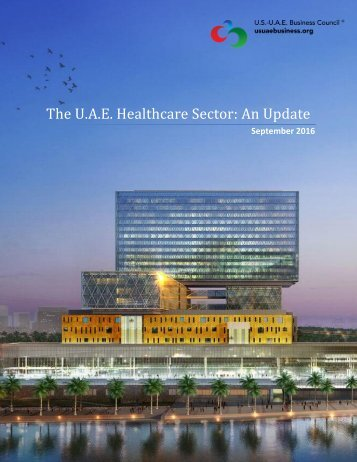 The U.A.E Healthcare Sector An Update
