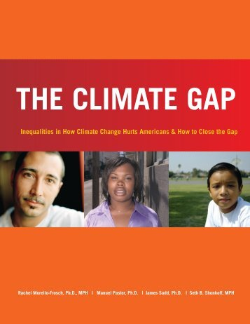 inequalities in How Climate Change Hurts americans & How to ...