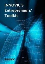 INNOVIC's Entrepreneurs' Toolkit